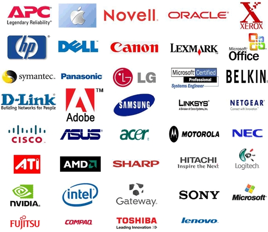 brands, products that Computer Experts Corporation has partnered with